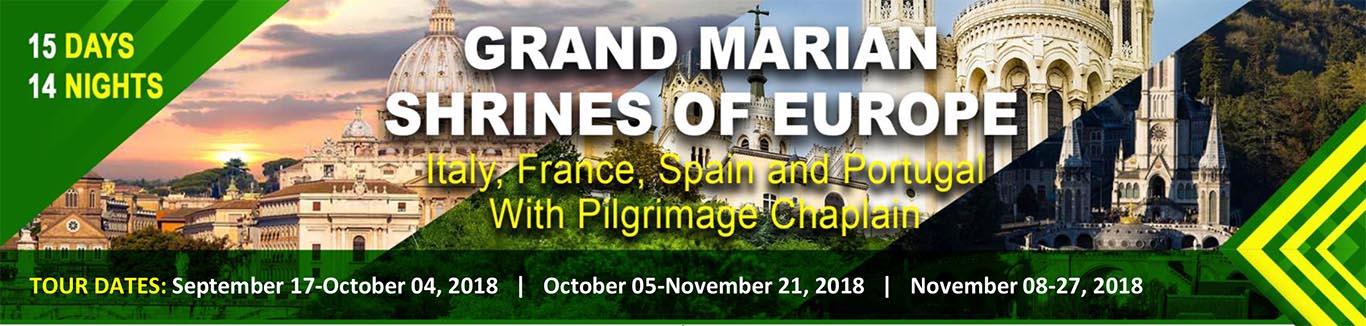 GRAND MARIAN SHRINES OF EUROPE