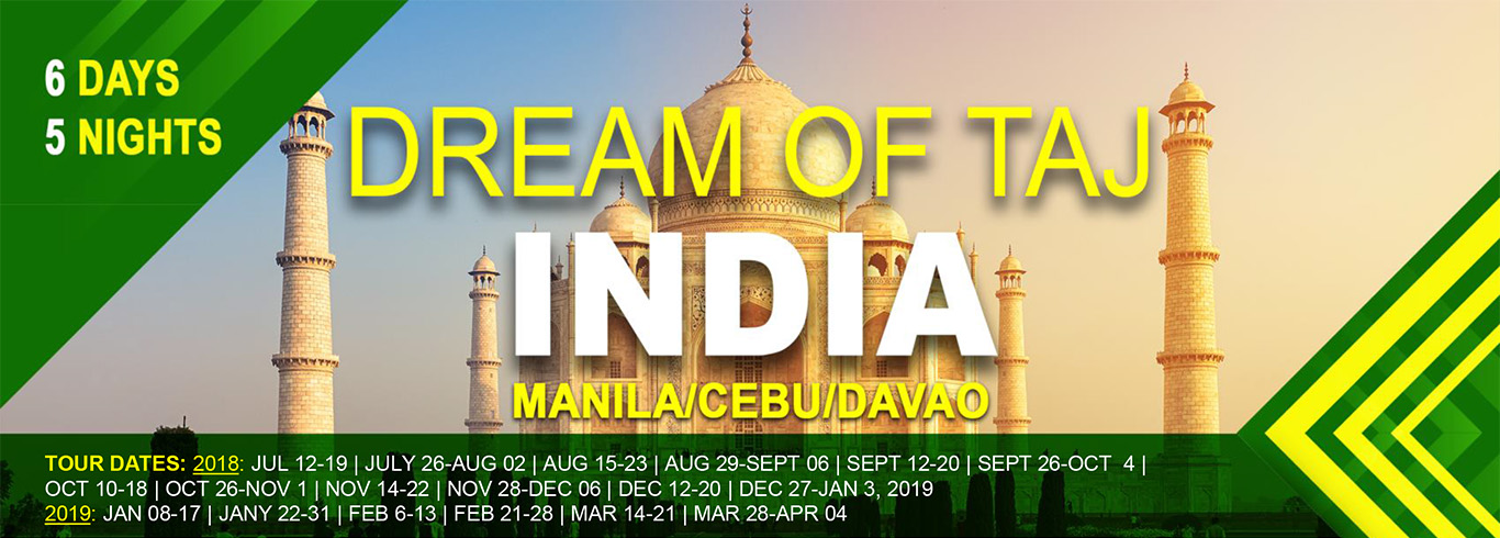 Dream of Taj Flyer TA