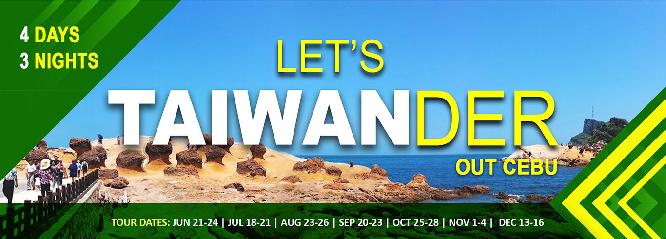 Lets Taiwander OUT CEBU