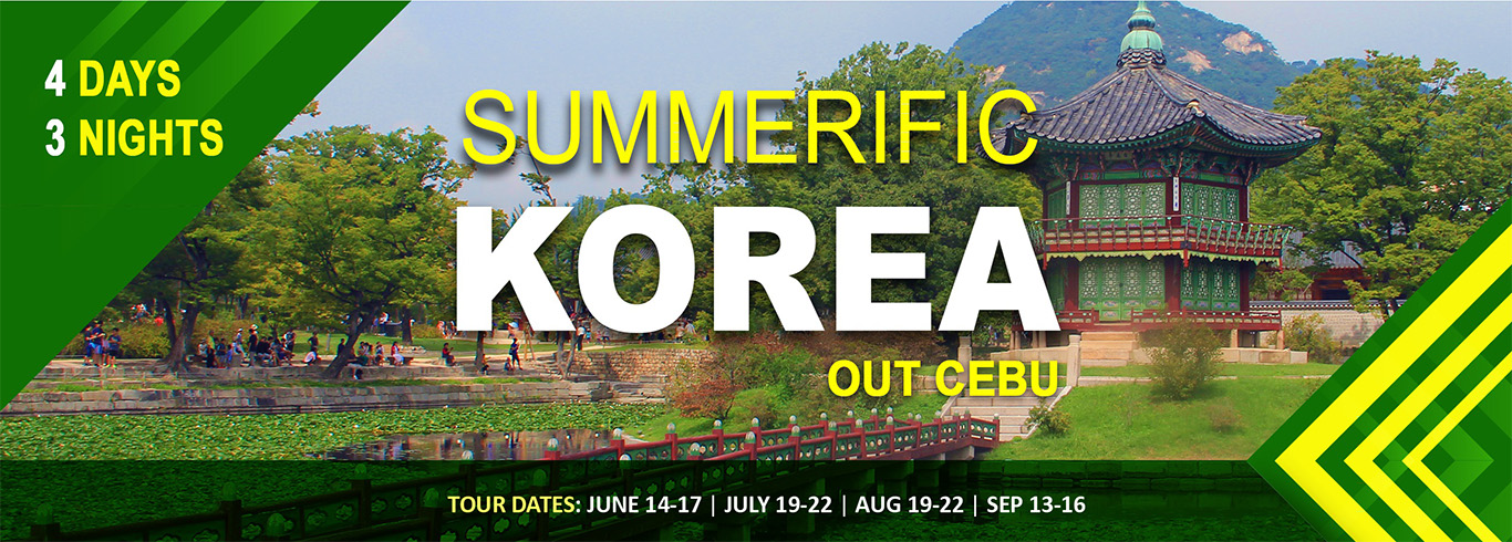 Summerific Korea (out Cebu)