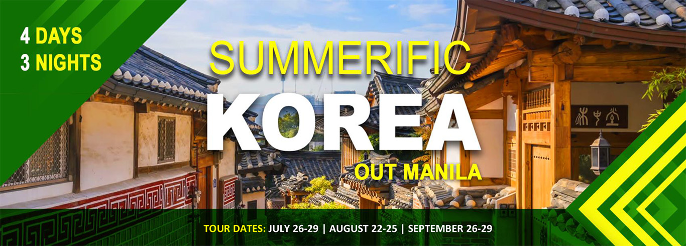 Summerific Korea (out Manila)
