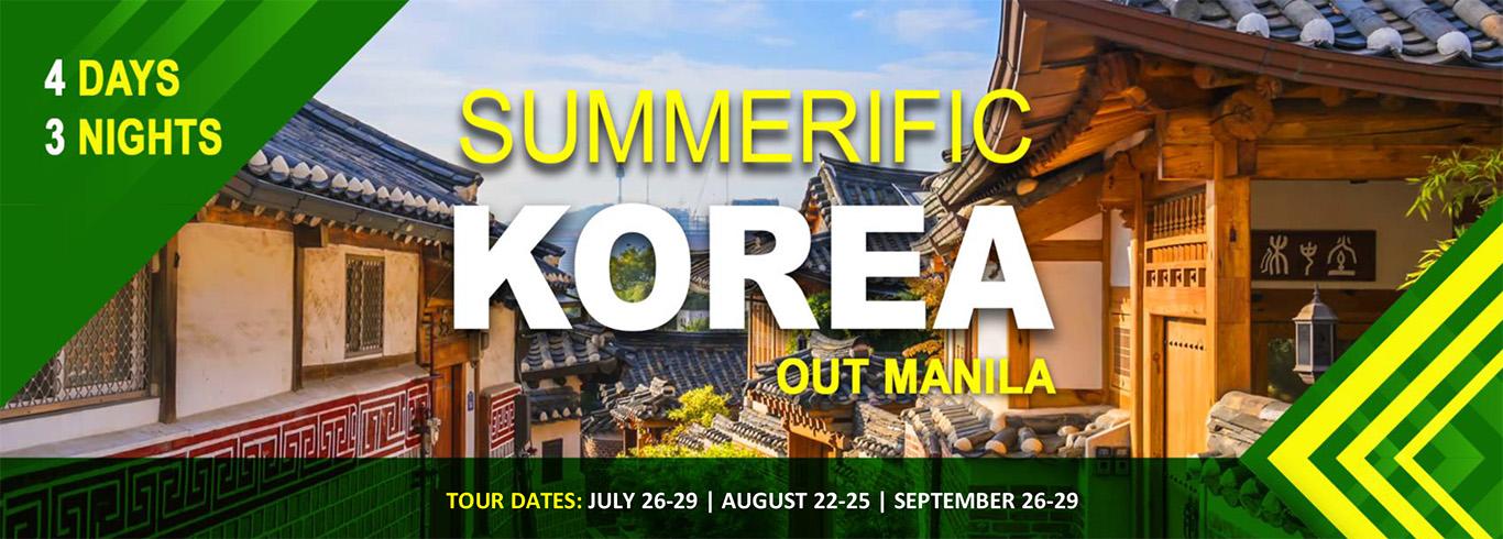 Summerific Korea (out Manila)