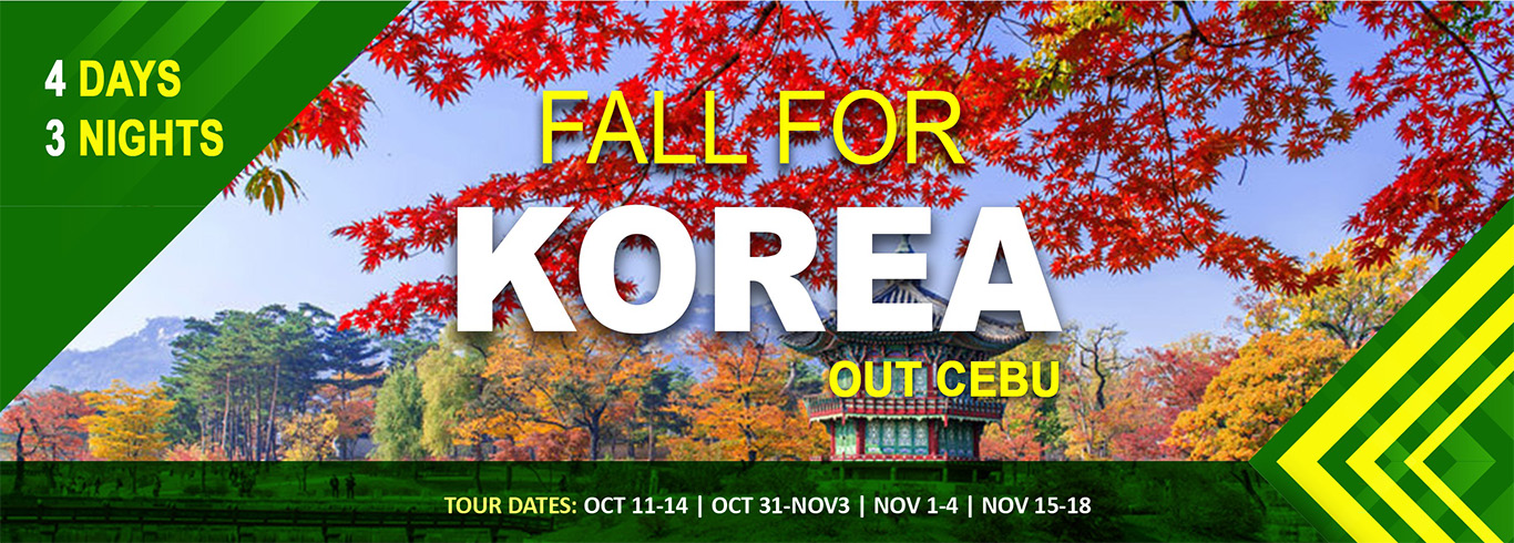 fall for korea out cebu